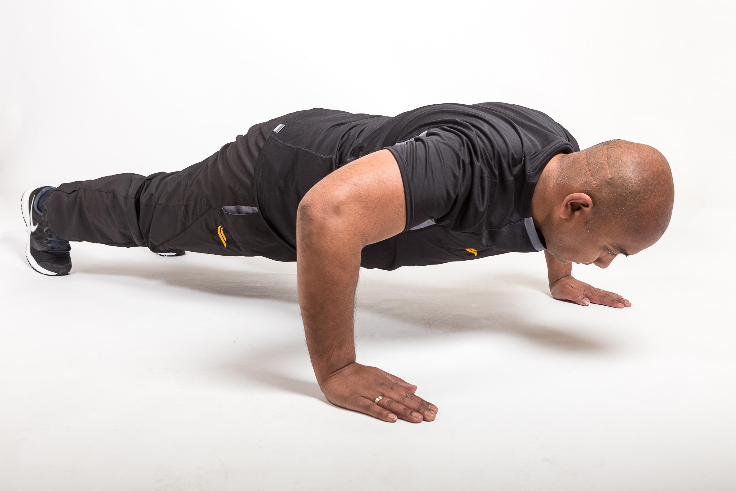 Des muscles fermes et un corps en pleine forme
