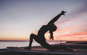 Femme et yoga